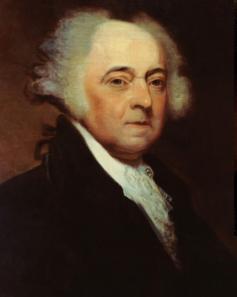 John Adams Portrait by Gilbert Stuart.  Credit: National Gallery of Art