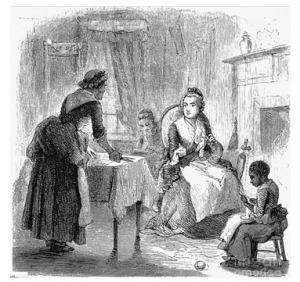 Martha with slaves